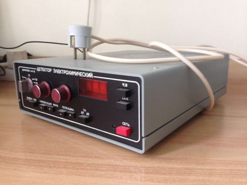 Электрохимический детектор БЛОК 5.184.007 общий вид